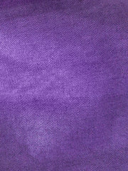 Satin Lined Purple Head Band Fabric