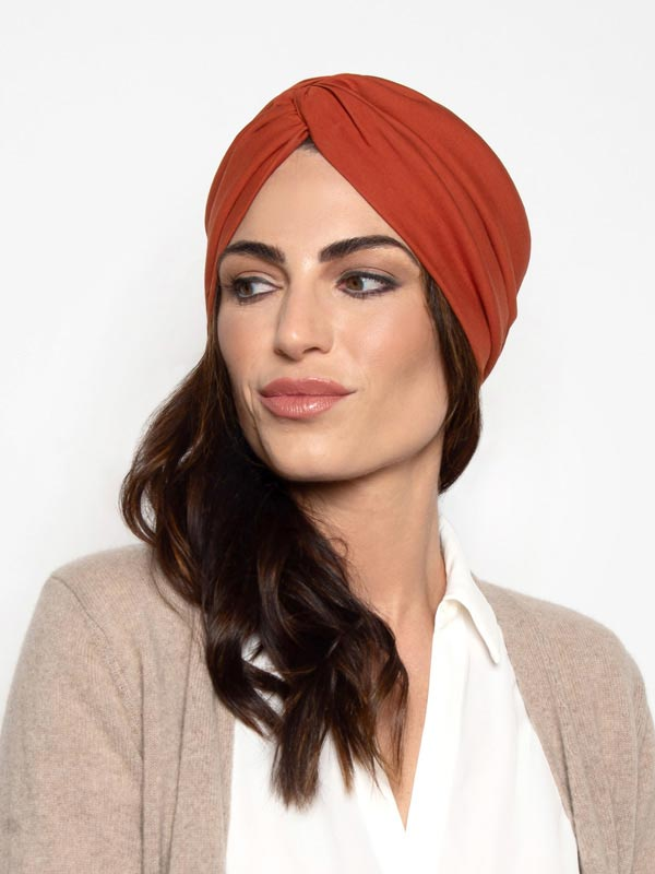 Ginger Turban Head Wrap