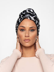 pre made head wrap for women