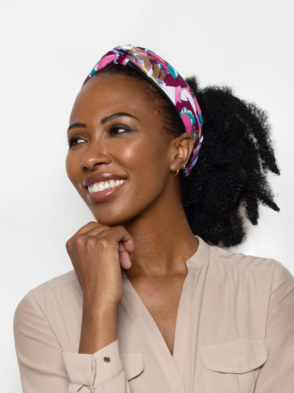 turban headband for women with curly hair