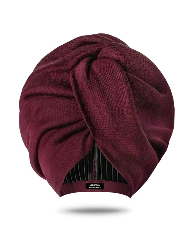 Mulberry Turban Hat For Women