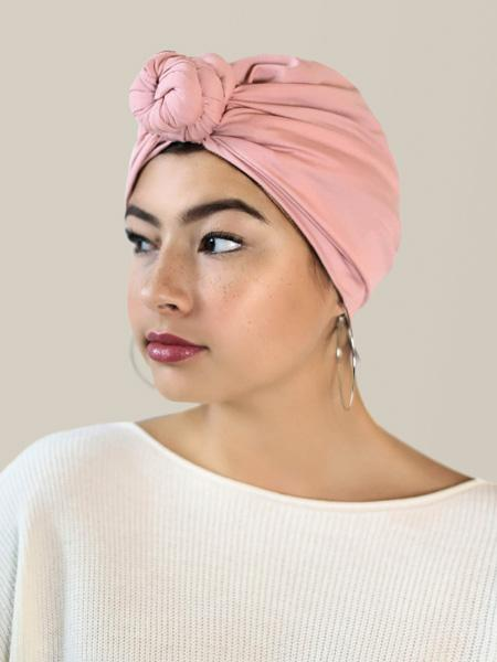 Pre-wrapped head wraps for women