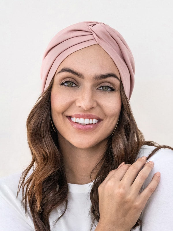 nude turban for women