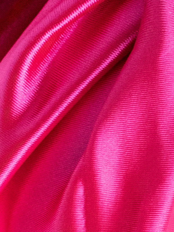 Pink Satin Hair Wrap fabric