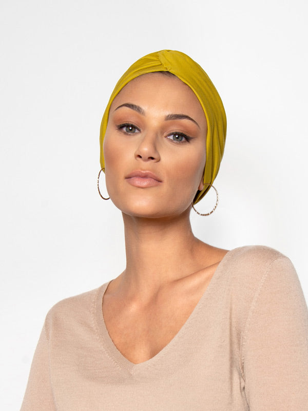pistachio turban head wrap