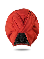 Poppy Turban Hat For Women (Pre-Knotted)
