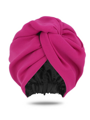 Pink Turban Head Wrap For Women