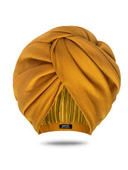 Mustard Turban Head Wrap
