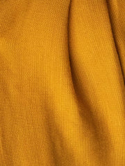 Mustard Turban Head Wrap fabric