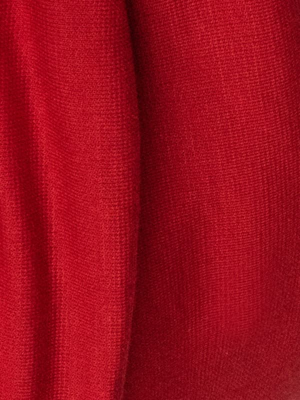 Red turban for women fabric