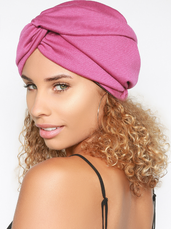 Pre-Tied Turban Head Wrap