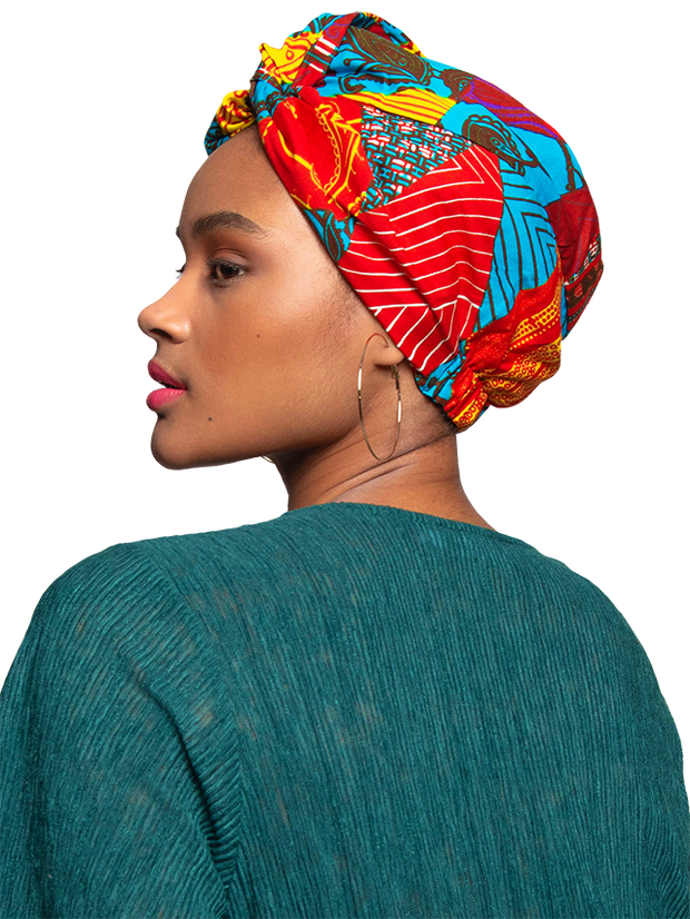 Head Wraps For Women | Satin Lined Turbans | Head Wraps For Naturals