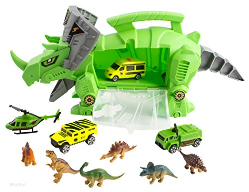 Perfect Dinosaur Storage Carrier for Your Dinosaurs and Cars