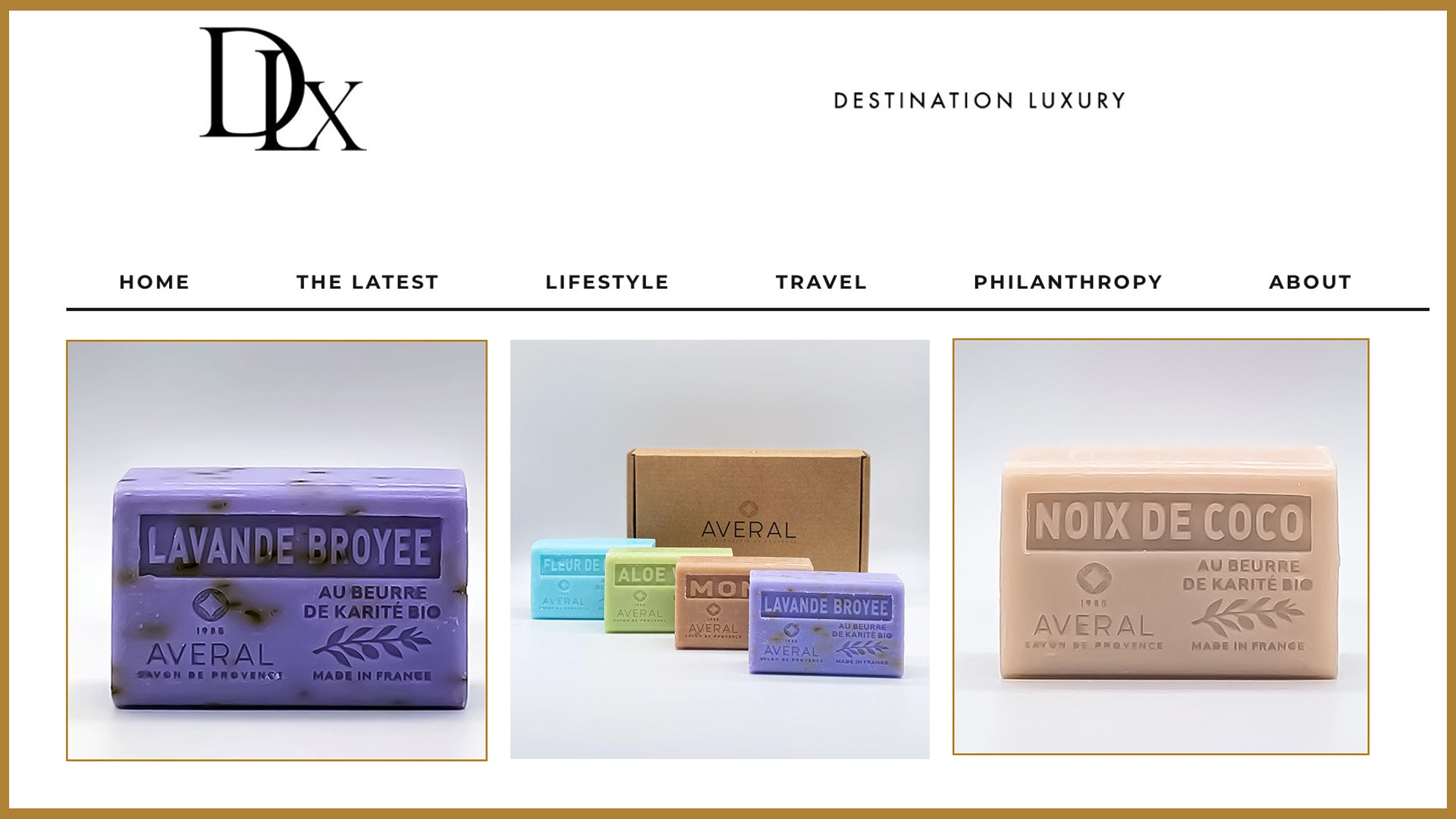Destination Luxury: Averal creating a new love story with French Soaps