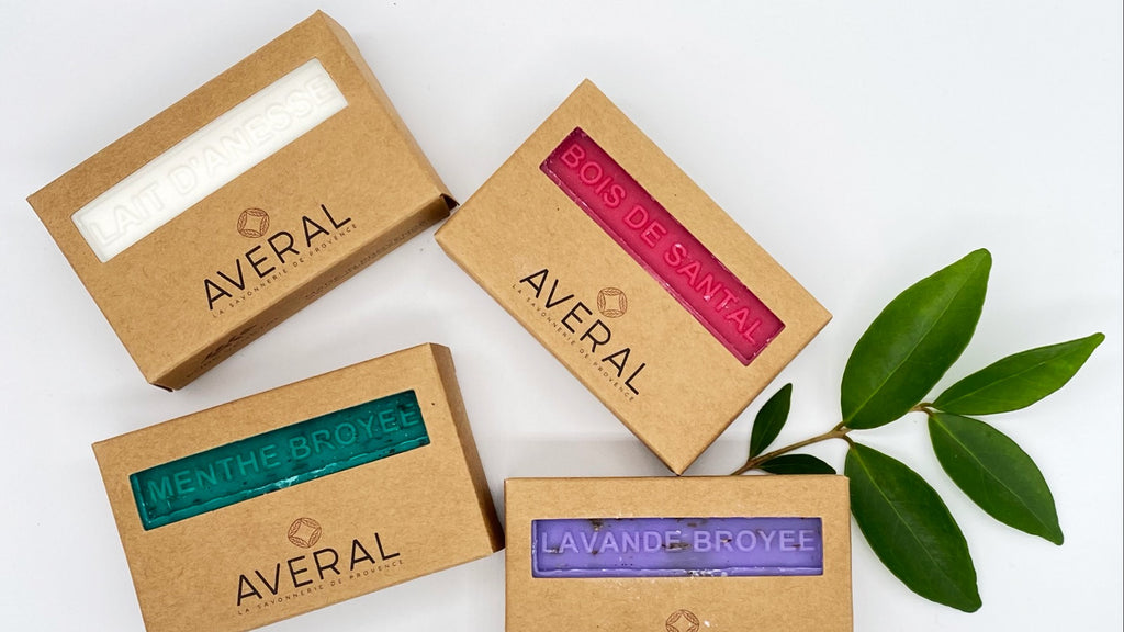 Averal: triple milled french soaps