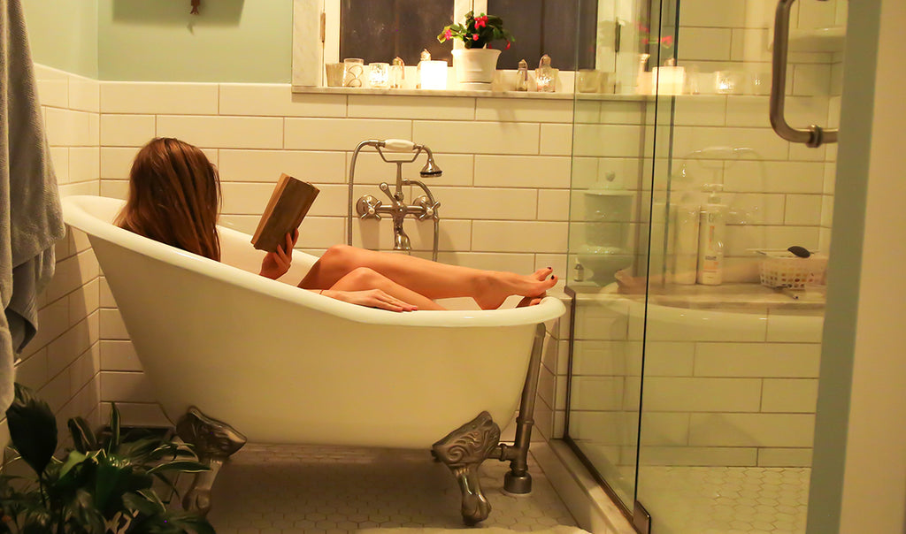 Taking a bath with Averal French soaps