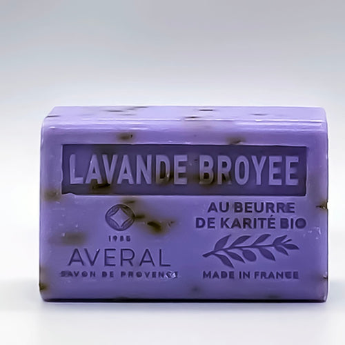 LAVENDER EXFOLIATING FRENCH SOAP