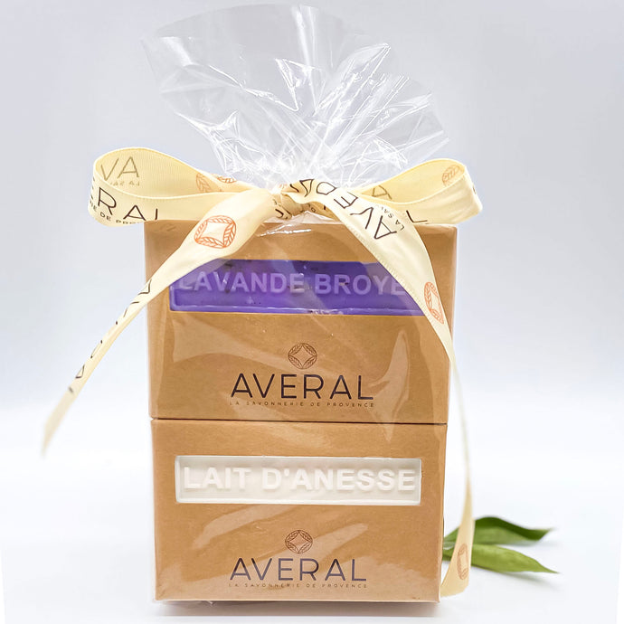 GIFT SET OF 2 FRENCH SOAPS