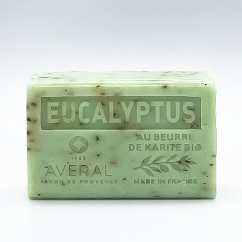 EUCALYPTUS FRENCH SOAP -EXFOLIATES -
