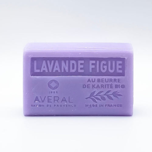 LAVENDER FIGUE FRENCH SOAP