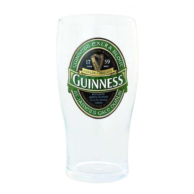 Ginness Ireland Collection 20 oz Pint Glass