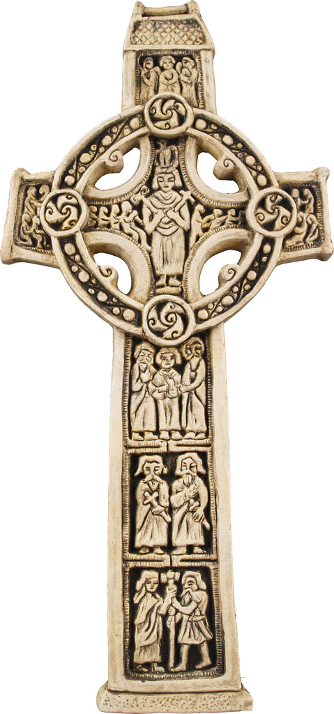 Front image of Scripture Cross by McHarp available at www.realirish.com