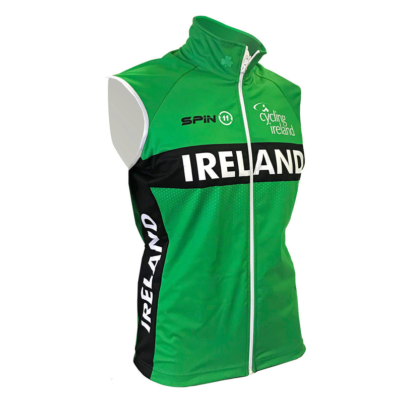 Official Team Ireland Cycling Gilet