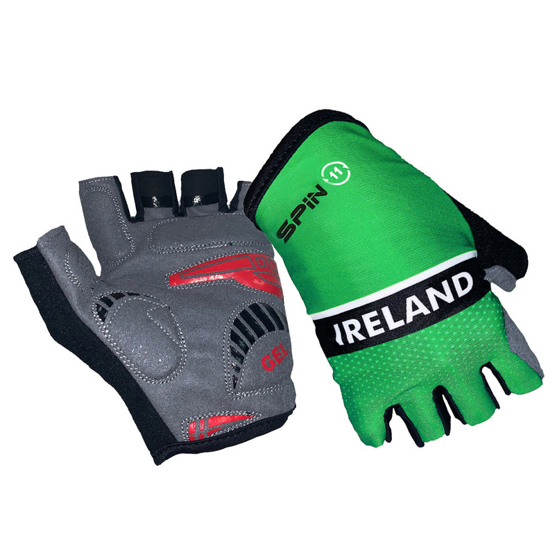 Official Team Ireland Cycling Gloves
