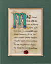 Limping Irish Toast - Double Matted Celtic Art Print