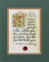 An Anniversary Blessing - Double Matted Celtic Art Print