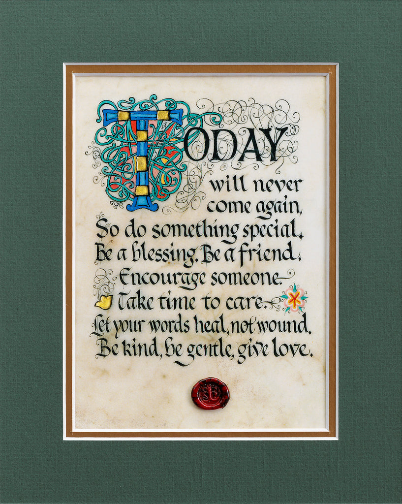 Do Something Special - Double Matted Celtic Art Print
