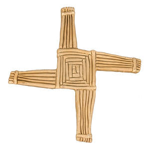 Front image of St Brigid's Cross by McHarp available at www.realirish.com