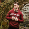 Guinness Hooded Sweatshirt - Burgundy
