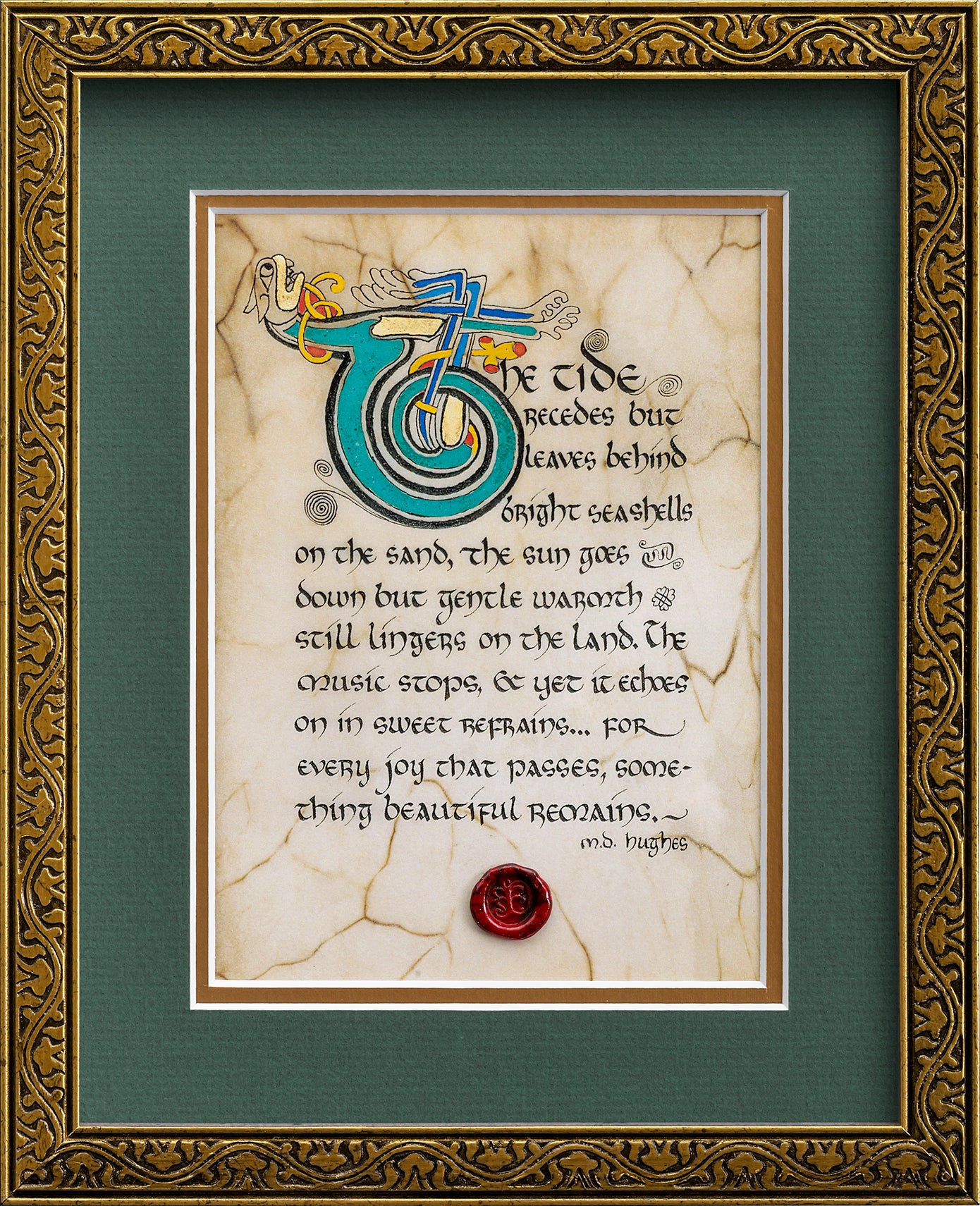 Something Beautiful Remains - Framed Celtic Art Print