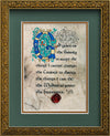 Serenity Prayer - Framed Celtic Art Print