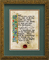 Faith - Framed Celtic Art Print