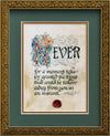 Never Take For Granted - Framed Celtic Art Print