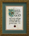 The Will of God - Framed Celtic Art Print