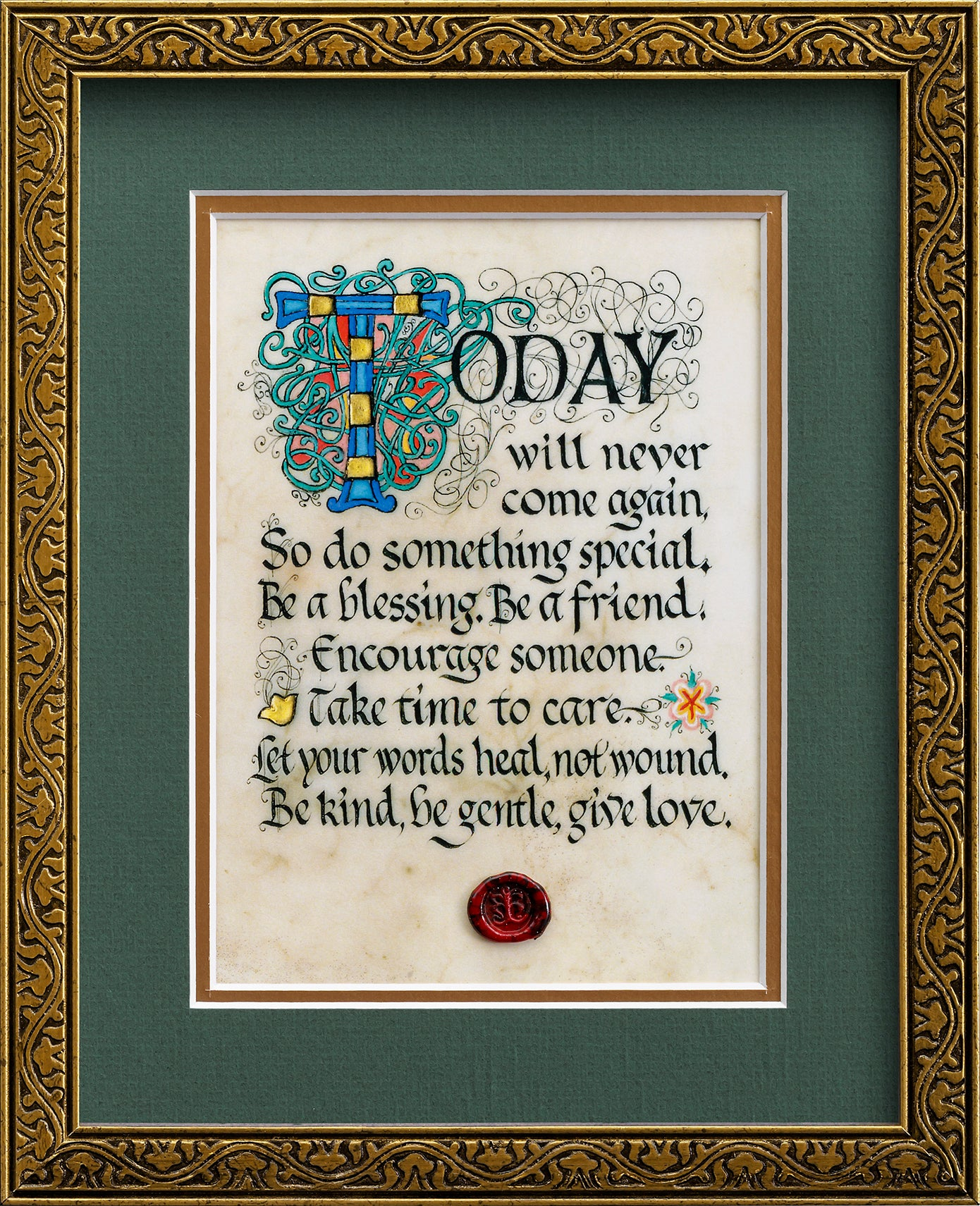 Do Something Special - Framed Celtic Art Print