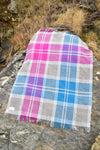 Blueberry Plaid Blanket by Studio Donegal