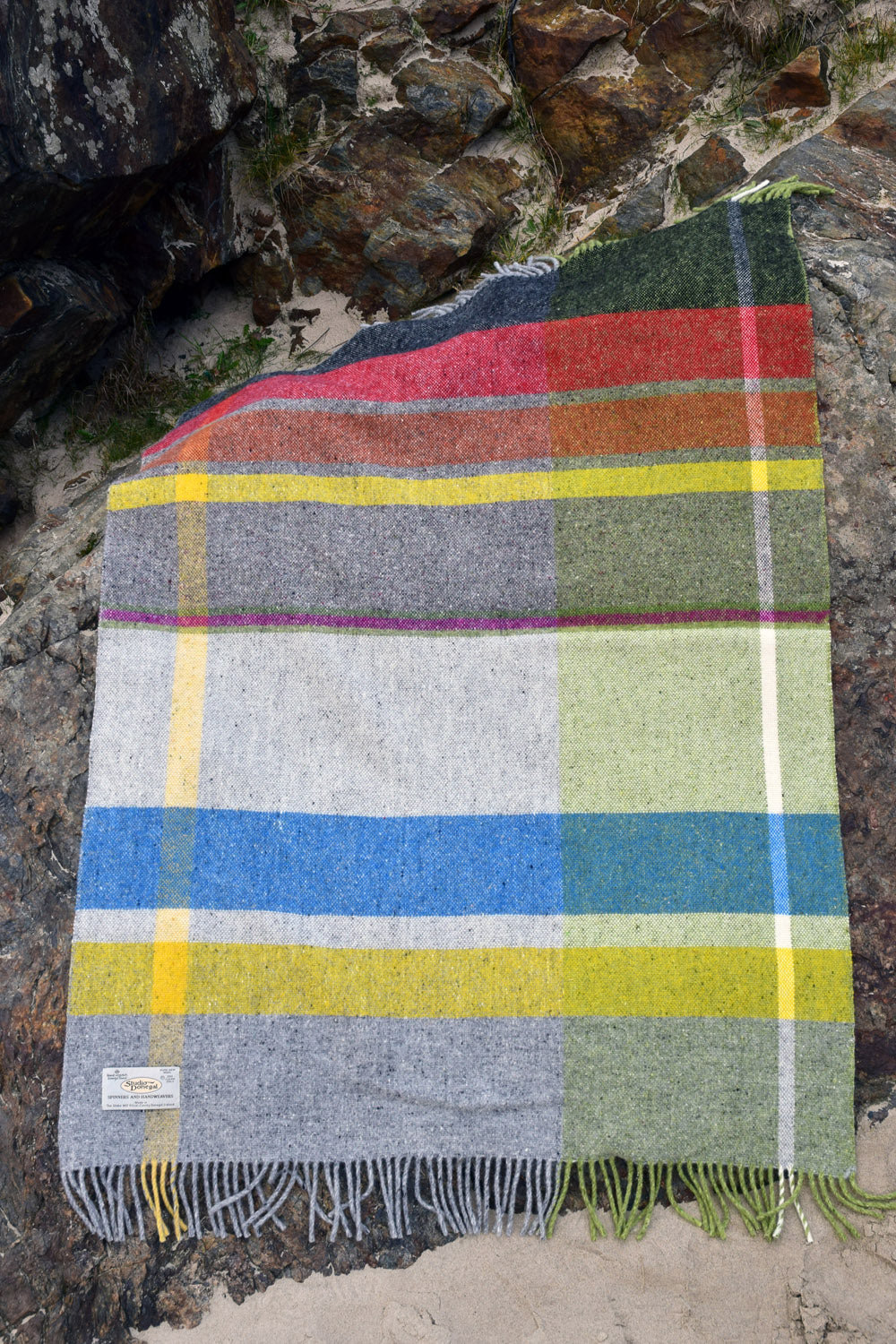 Donegal Days Throw - Winter - by Studio Donegal