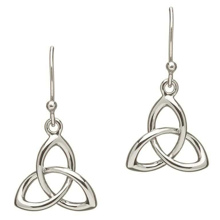 SE2034 Celtic Trinity Knot Earring by Shanore