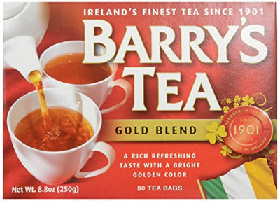 Barry' Tea Red Box Gold Blend