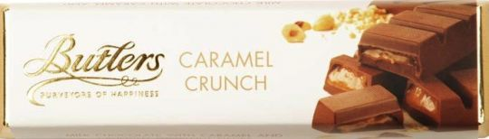 Butlers Caramel Crunch Chocolate Bar 75g (2.6oz)