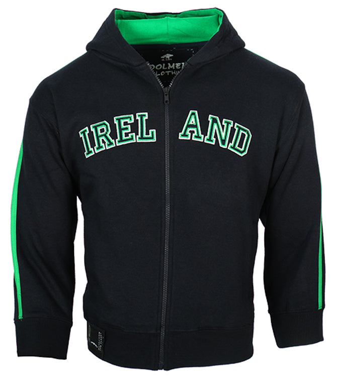 Kids Ireland Retro Zip Hoody - Blue