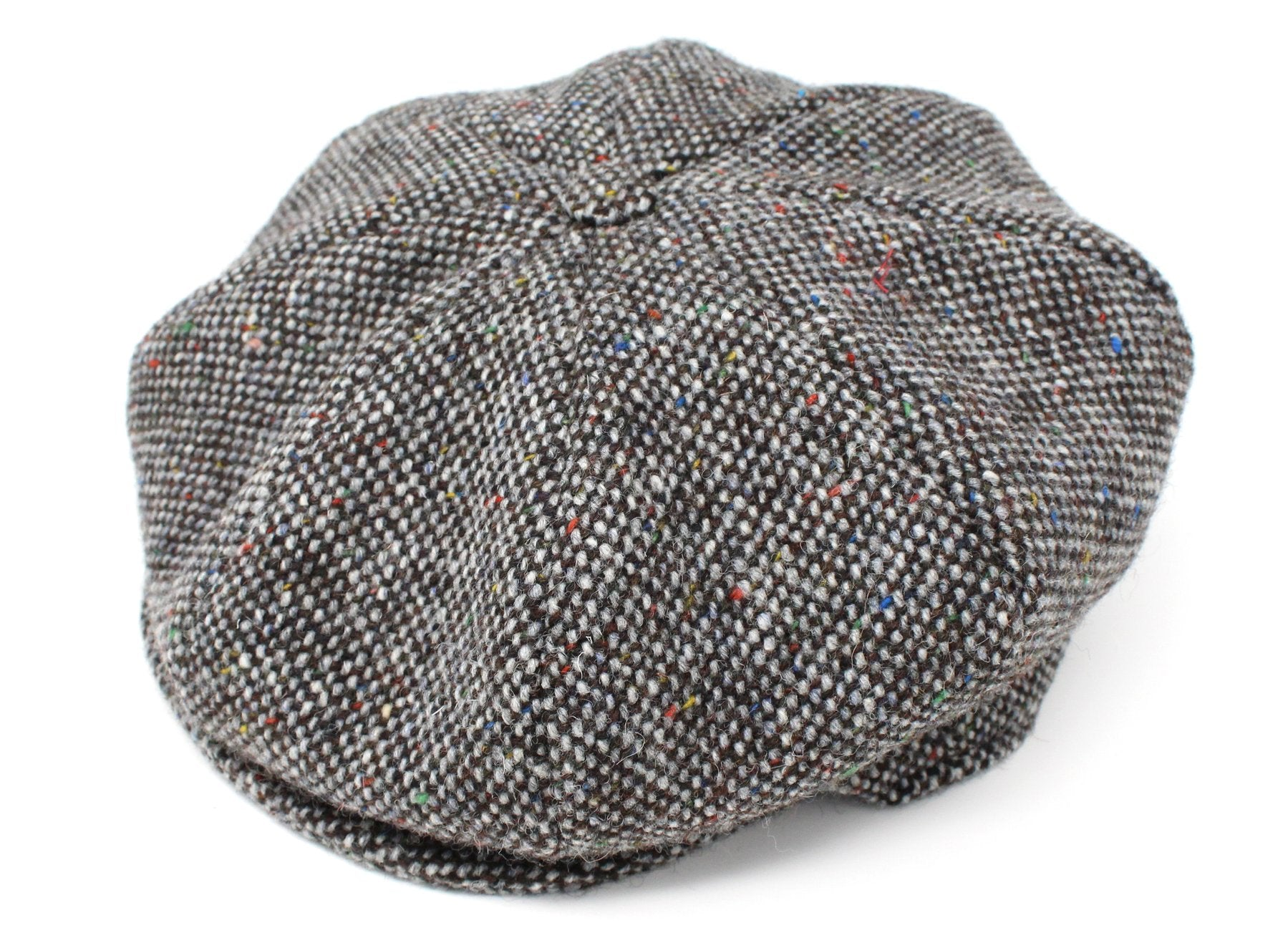 Irish Tweed Eight Piece Cap