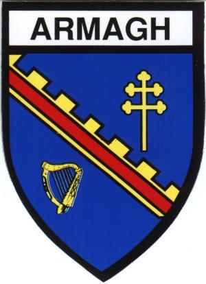 Irish County Car Sticker - Armagh