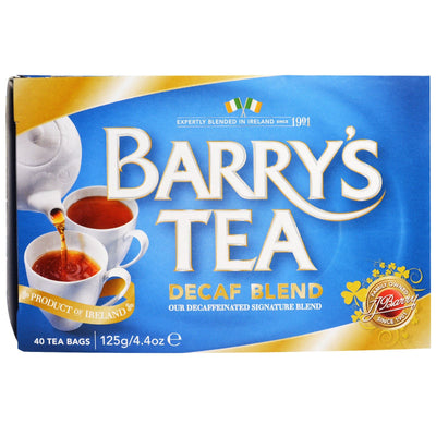 Barry's Tea Decaf Blend Blue Box