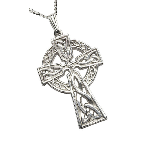 2 Sided Celtic Cross Pendant - Very Large