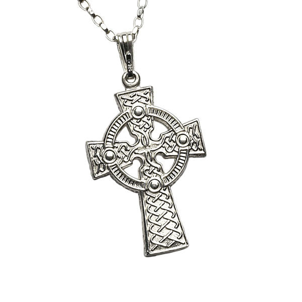 2 Sided Celtic Cross Pendant - Large
